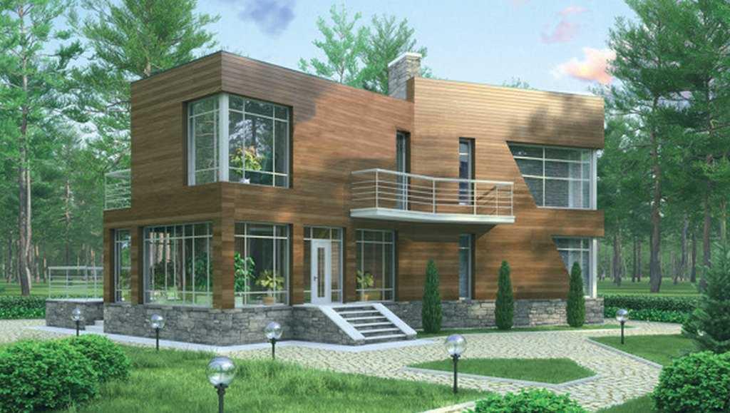 Фото дома в стиле модерн