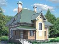 Фото дома в английском стиле общей площадью 130 кв.м.