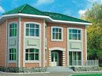 Фото дома в английском стиле общей площадью 172 кв.м.
