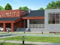 Фото дома в стиле модерн общей площадью 138 кв.м.