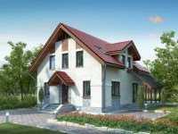 Фото дома для большой семьи общей площадью 124 кв.м.