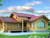 Фото дома для большой семьи общей площадью 136 кв.м.