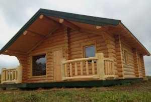 Фото из проекта деревянной бани