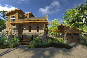 Небольшой двухэтажный дом общей площадью 91,51 кв.м.