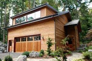 Небольшой двухэтажный дом общей площадью 95,13 кв.м.