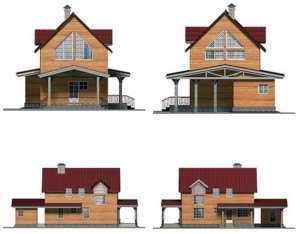 Фото фасадов дома в скандинавском стиле