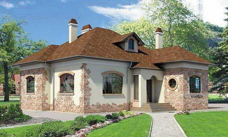 недорогой красивый дом