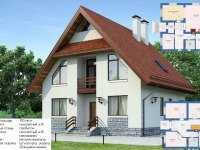 Фото одноэтажного дом 10 на 10 общей площадью 150 кв.м.