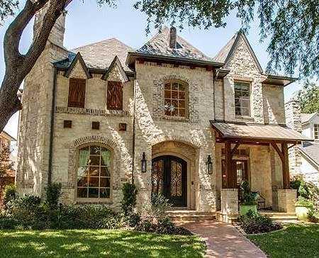 Дом в классическом стиле на фото