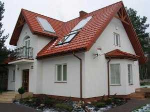 Типовой дом с мансардой
