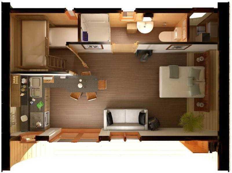 Дизайн-проект маленького дома