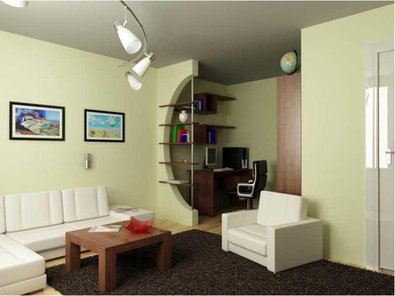 Интерьер небольшого жилища в современном стиле
