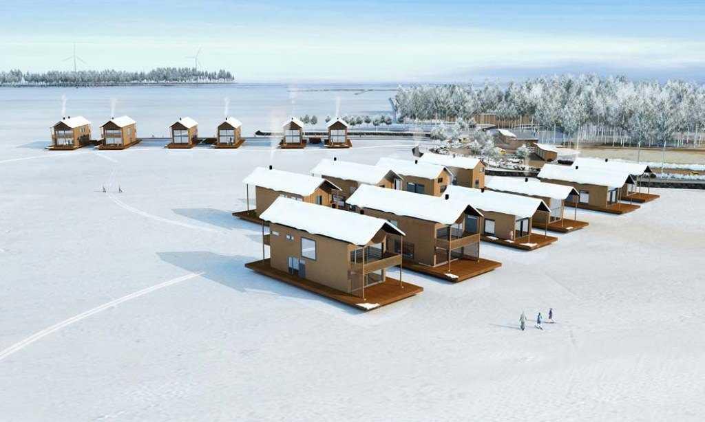 Проект плавучего поселка