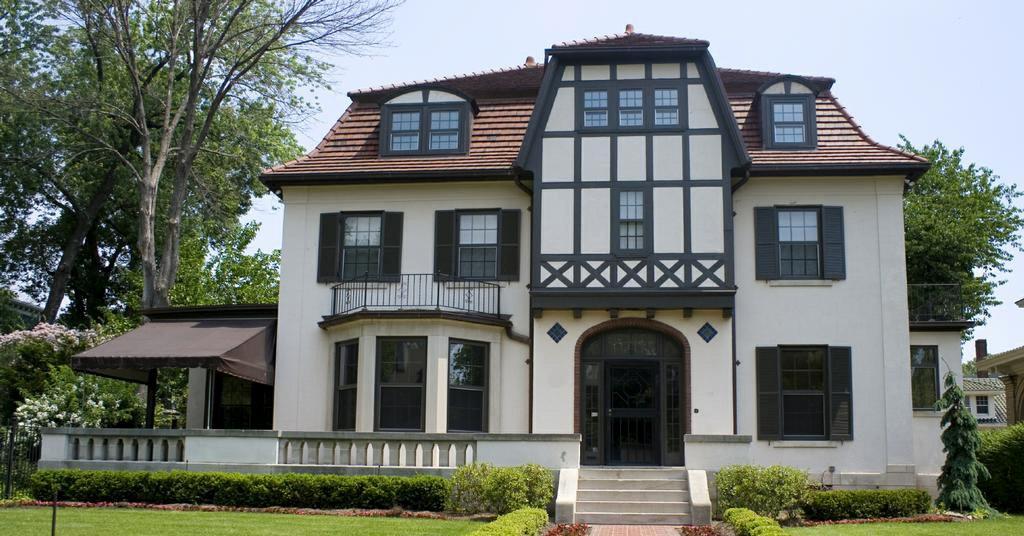Дом в немецком стиле фахверк