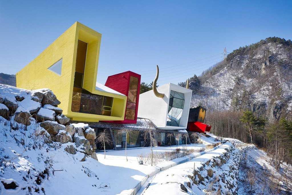 Архитектура в стиле постмодернизм
