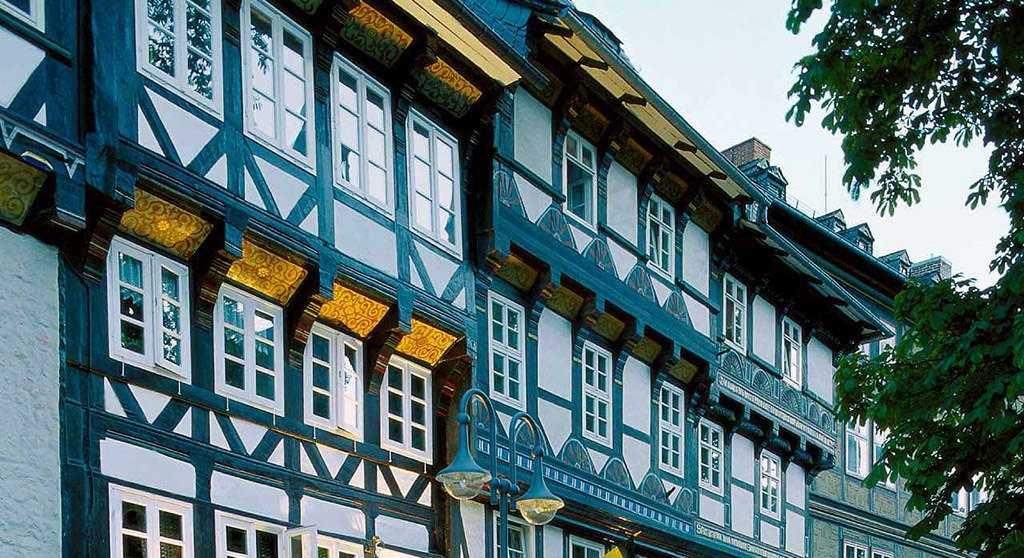 Немецкий стиль фасада домов
