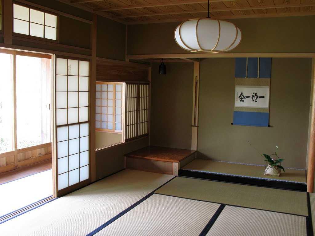 Японский интерьер в стиле минимализм