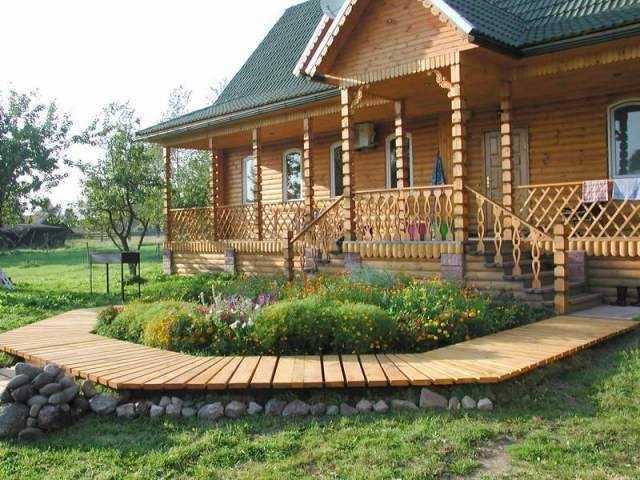 Ландшафт в славянском стиле