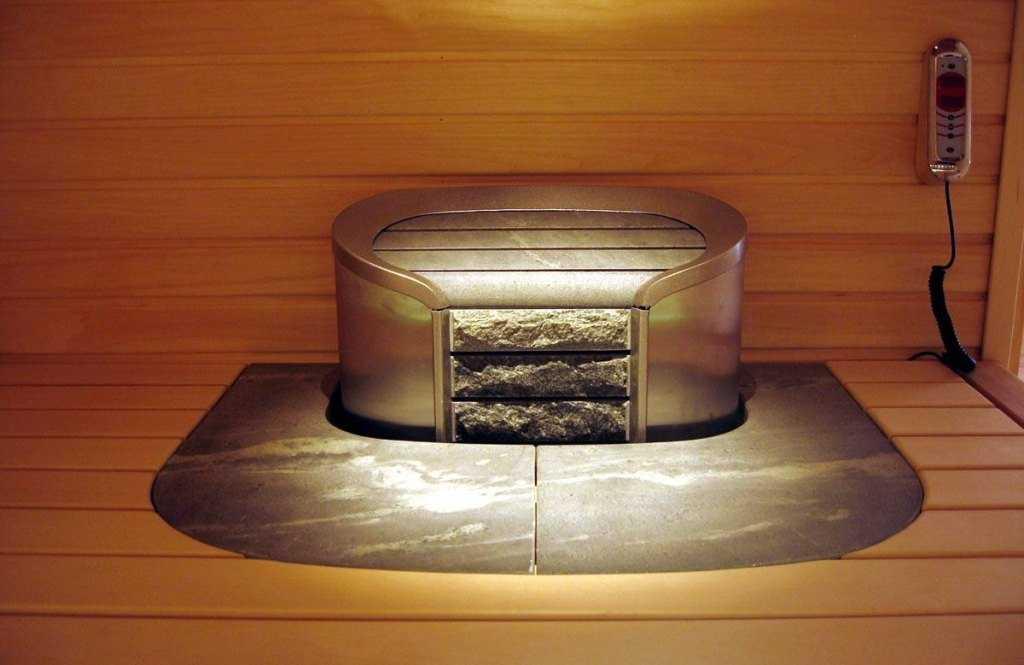 Парогенератор-печь в сауне