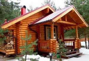 3. Деревянная баня