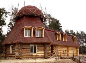 4. Деревянная баня