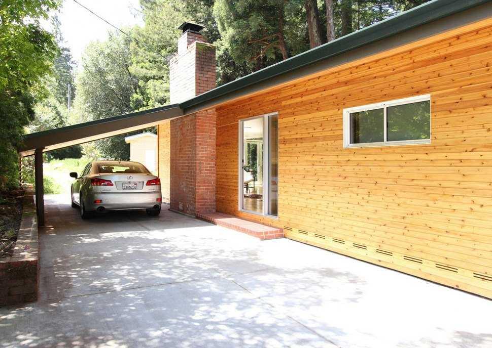 Навесной гараж