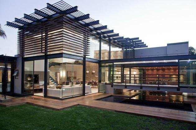 Необычно красивый дом