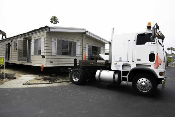 Транспортировка домов