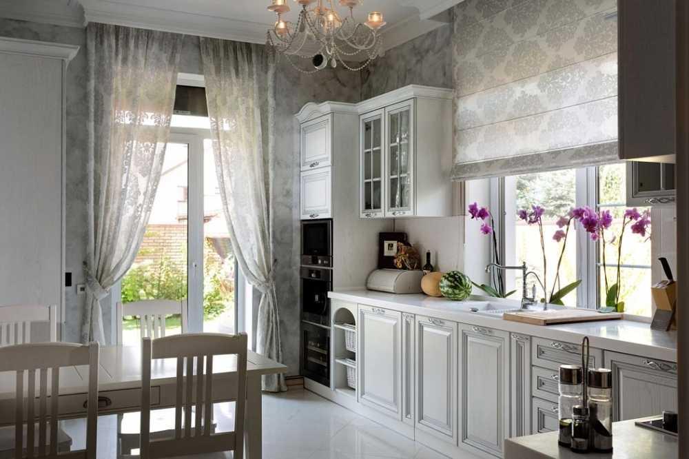 кухня небольшого дома