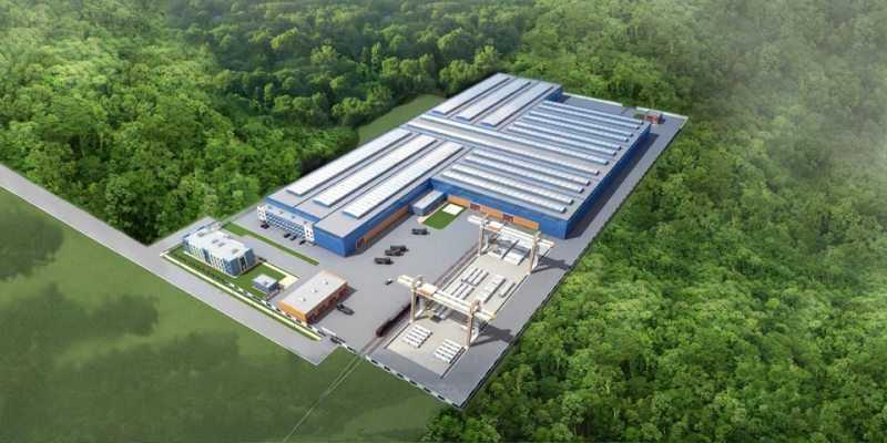 Проект промышленного комплекса
