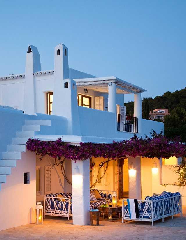 Средиземноморский стиль небольшого дома