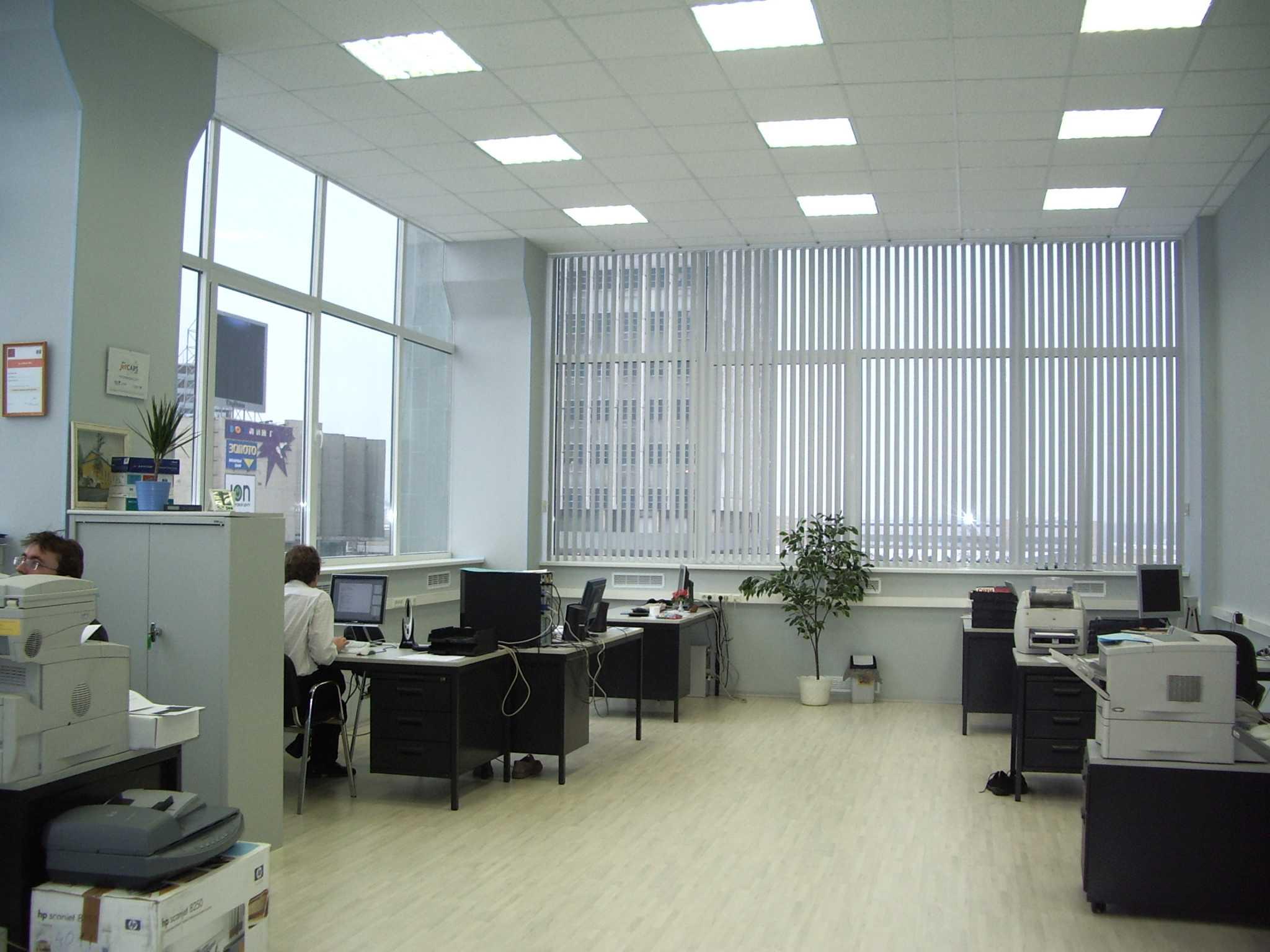 алюминиевые окна в офис