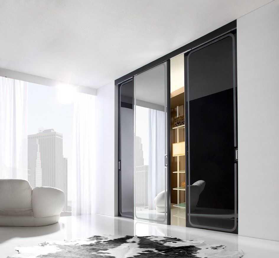 раздвижные стеклянные конструкции
