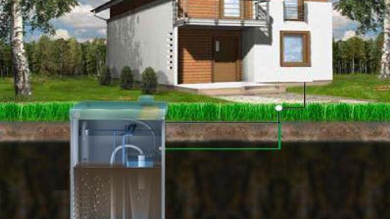 Сливная канализация септик