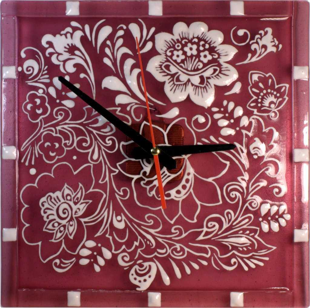 часы с фьюзингом