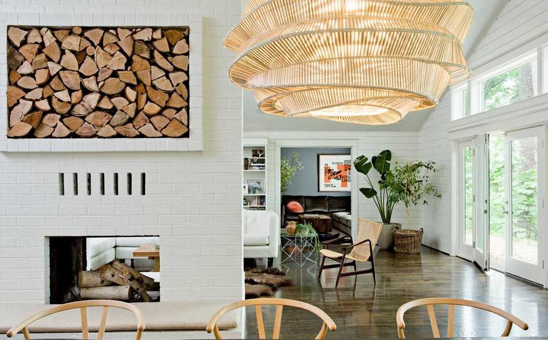 деревянные элементы интерьера