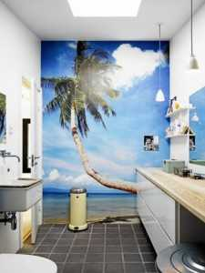 Фотообои для ванной
