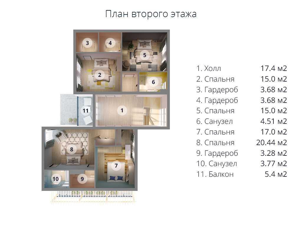 второй этаж МС-296