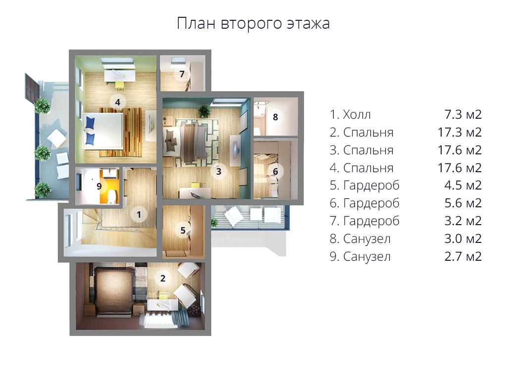 второй этаж Мс-238
