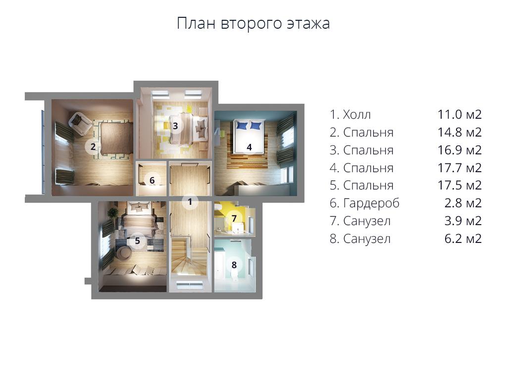 второй этаж Мс-253