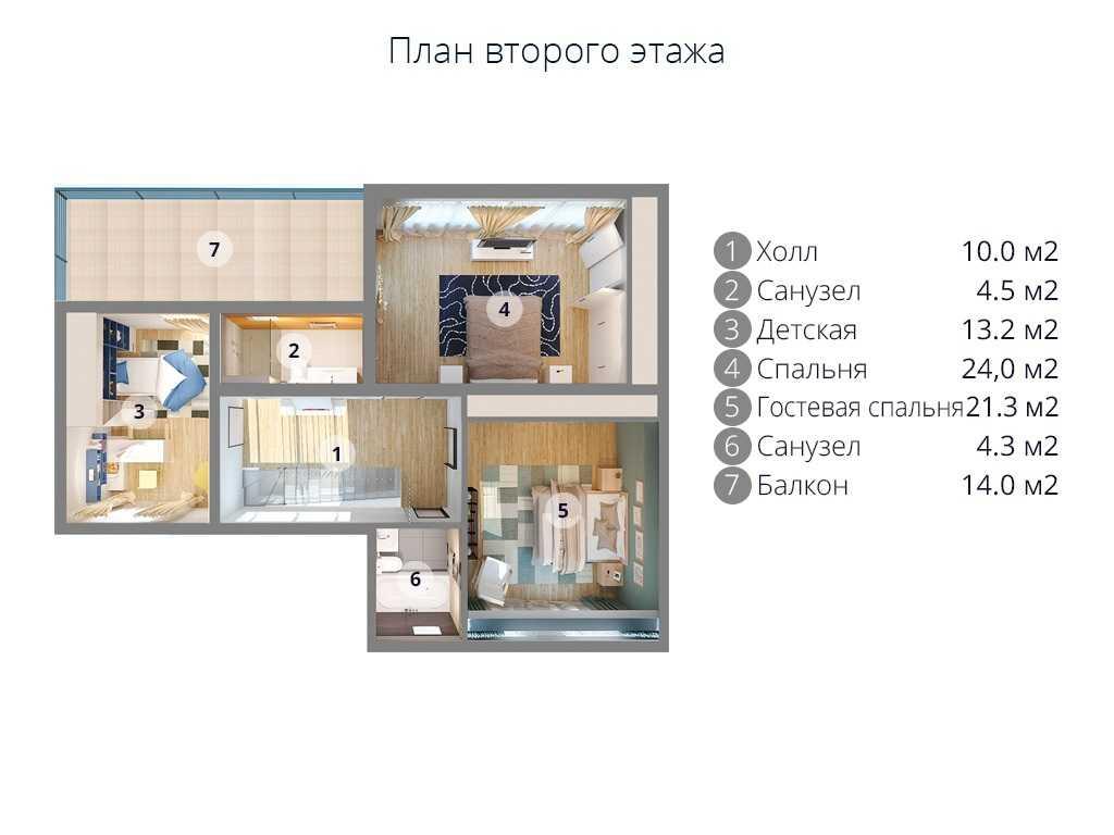 второй этаж мс233