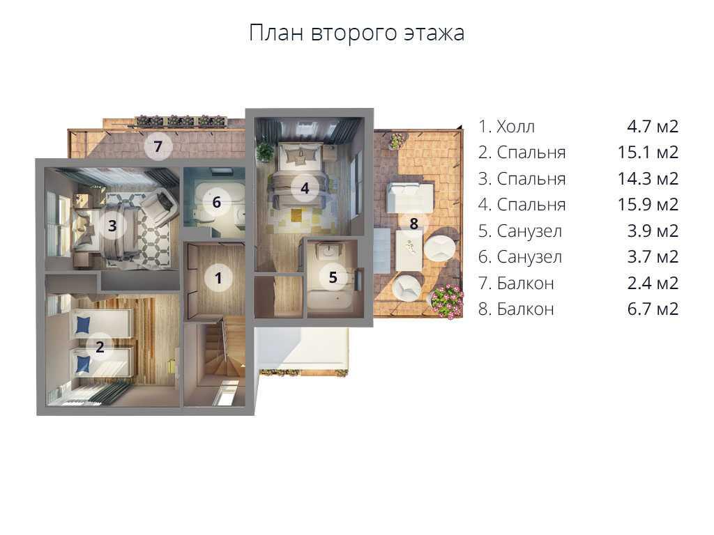 МС-224 план второго этажа
