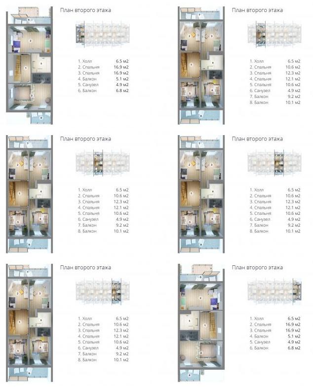 план второго этажа МС-1110