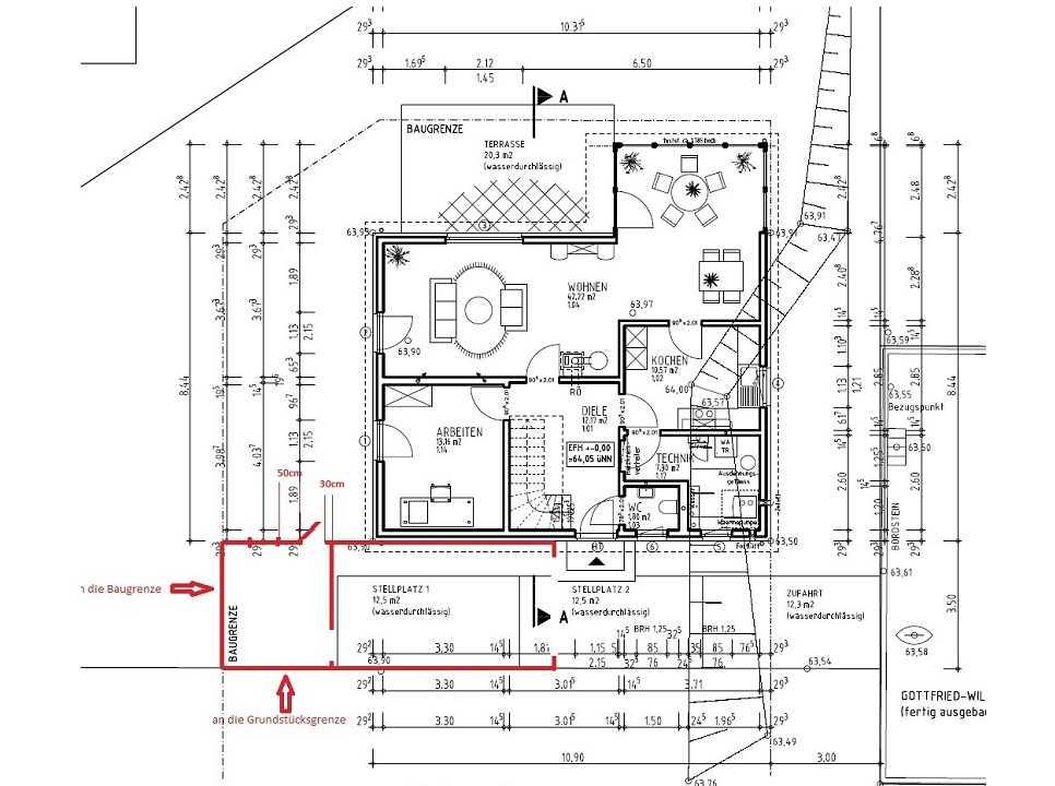 планировка первыго этажа