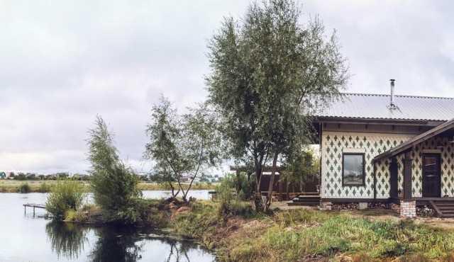 фасад каркксного дома