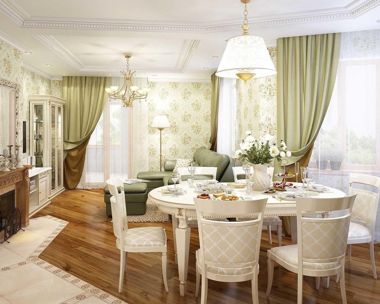 интерьер французской квартиры