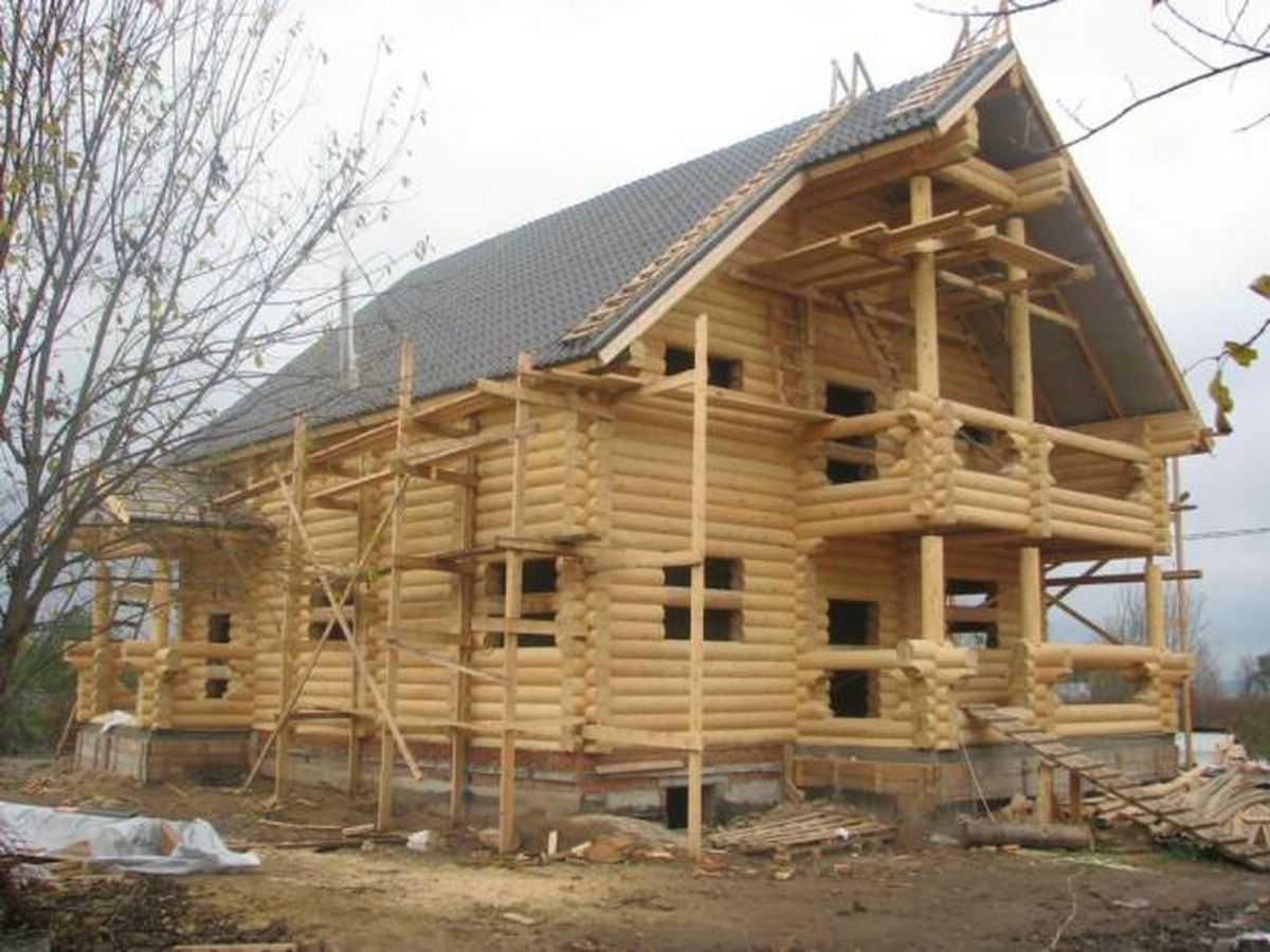 ремонт дома из дерева