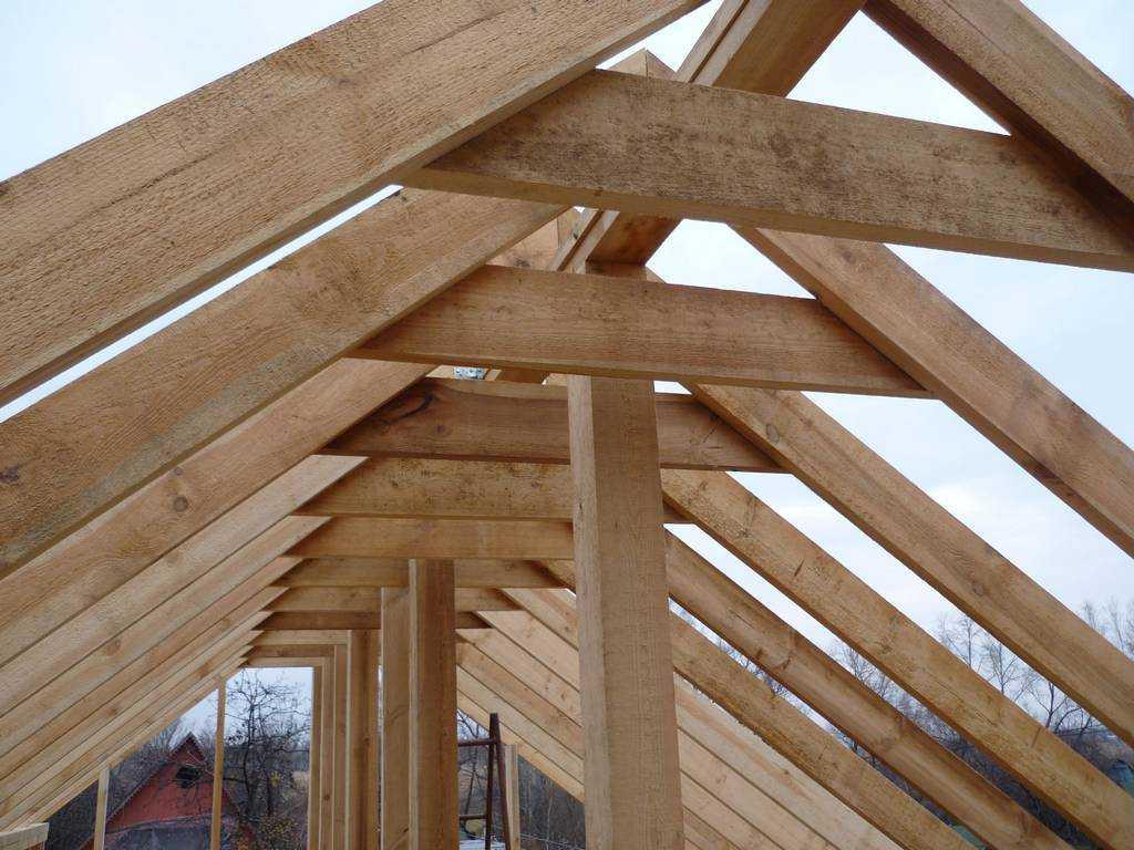 ремонт стропил в деревянном доме