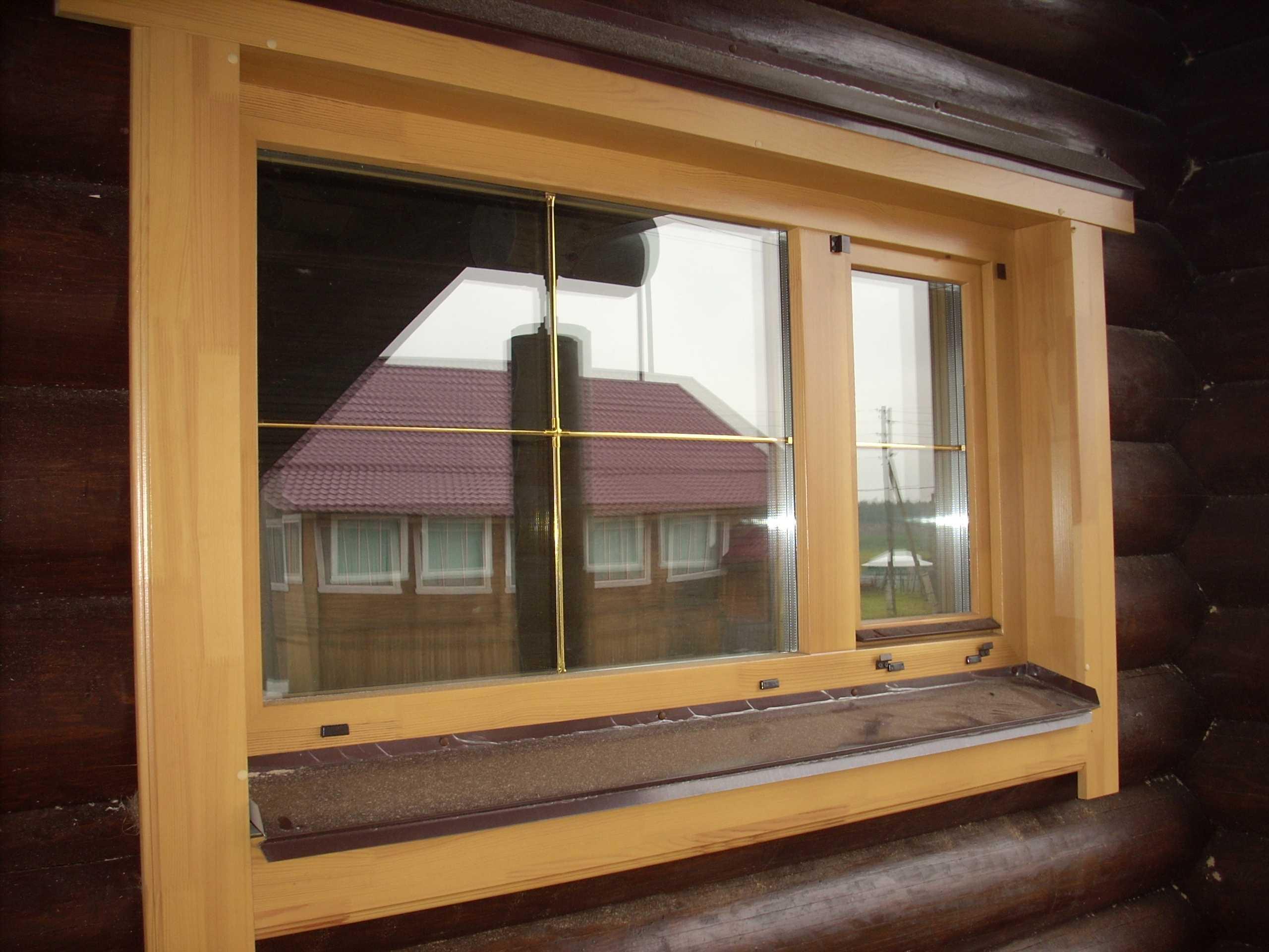 влага под окном в деревянном доме