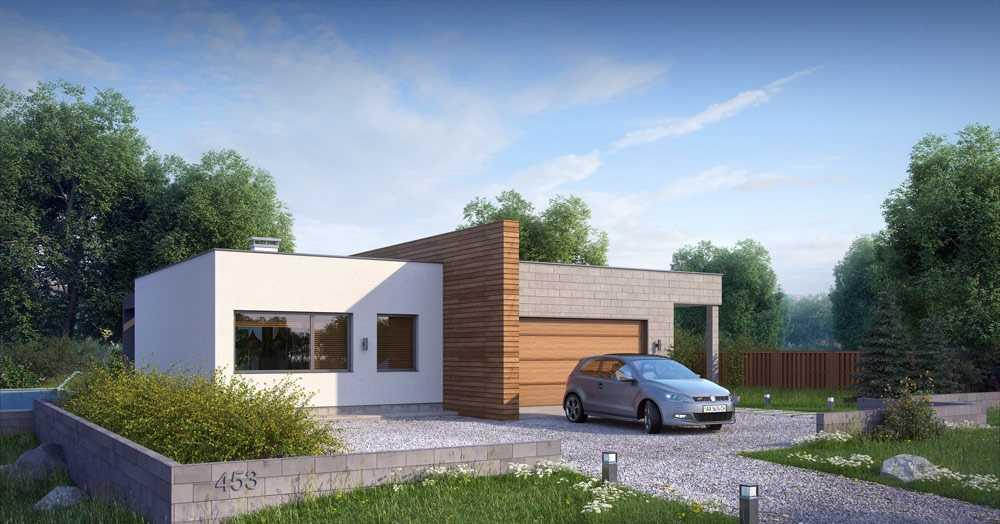 Проекты домов в стиле модерн